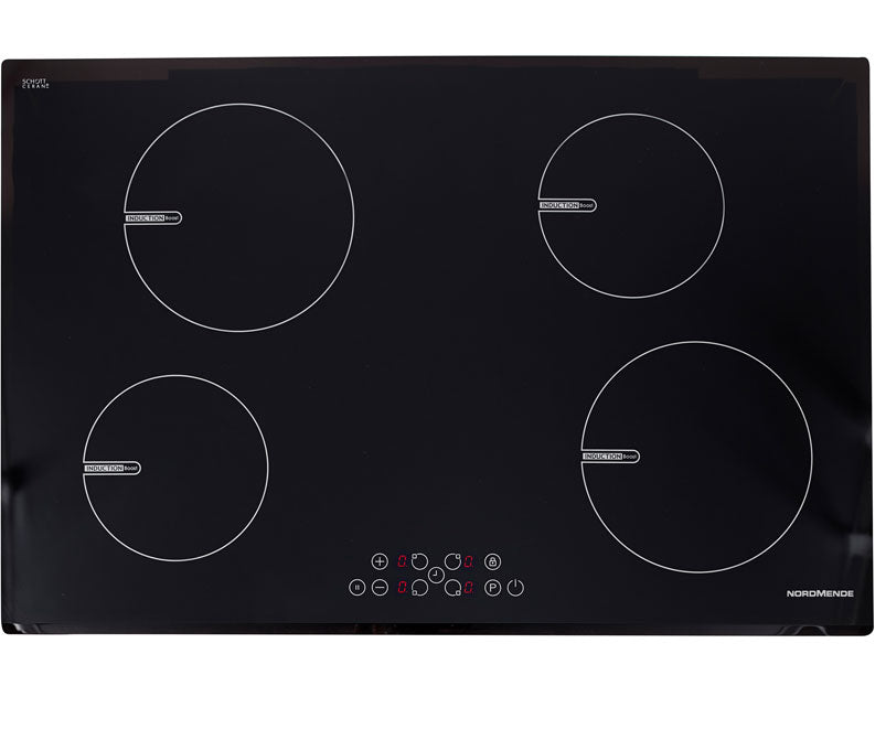 Nordmende HCI79FL 78cm Induction Hob Front Bevelled Edge