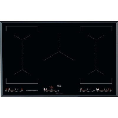 AEG IKE85651FB black glass Maxisense 5 zone induction hob