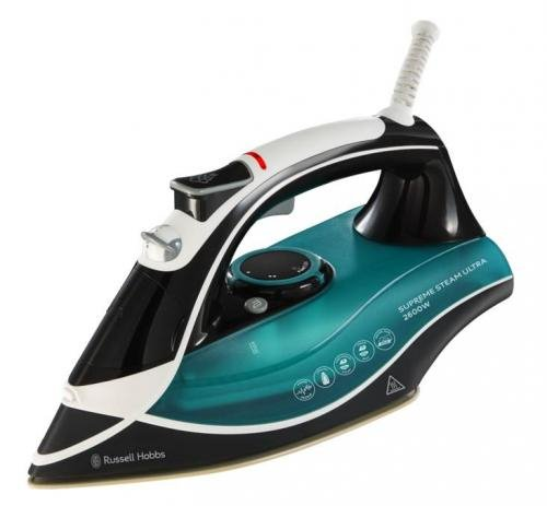 Russell Hobbs Supreme Steam Traditional Iron 23260, 2600 W - Teal/Black