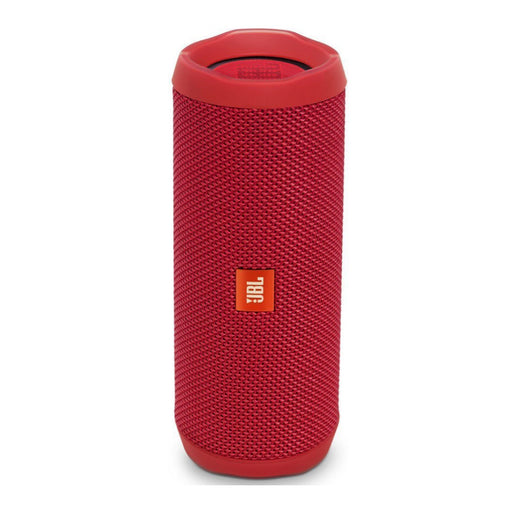 JBL Flip 4 Wireless Portable Bluetooth Speaker - Red