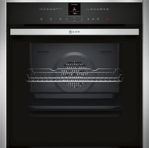 Neff B57VR22N0B, Slide&Hide, Built-in, Single Oven, Stainless Steel