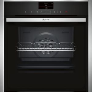 NEFF B47CR32N0B Slide & Hide Electric Oven - Stainless Steel