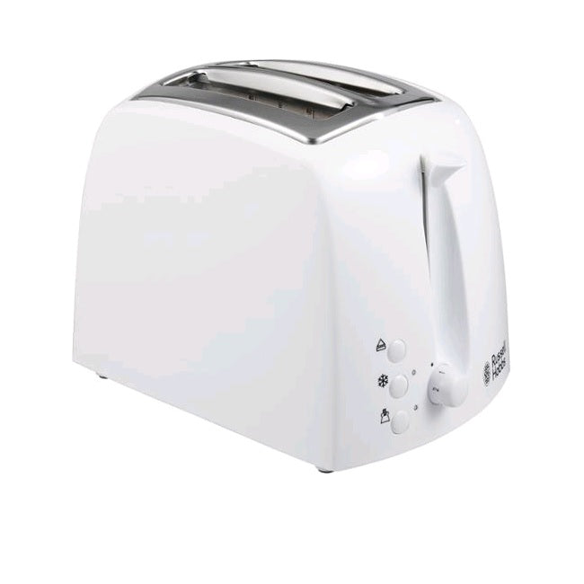 Russell Hobbs Textures White 2 Slice Toaster 21640