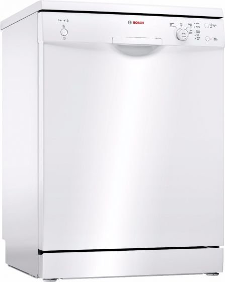 Bosch SMS24AW01G, 60cm, 12 Place, Freestanding Dishwasher, White. Free 2 years full warranty.