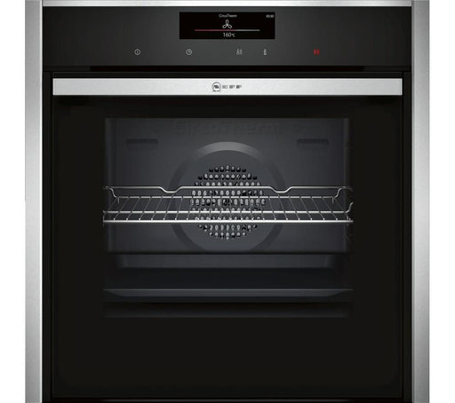 NEFF B58CT68N0B Slide&Hide Electric Oven - Stainless Steel