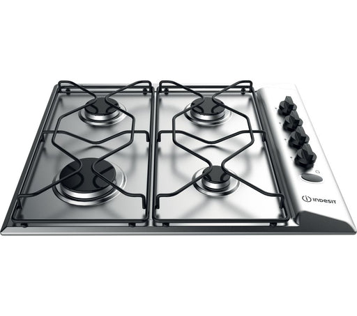 INDESIT Aria PAA 642 IX/I WE Gas Hob - Silver