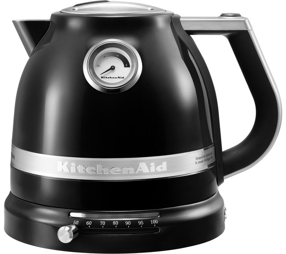 KITCHENAID Artisan 5KEK1522BOB Traditional Kettle - Onyx Black