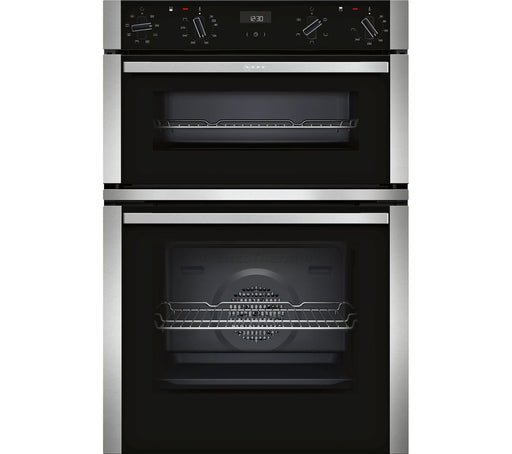 NEFF N50 U1ACE2HN0B Electric Double Oven - Stainless Steel