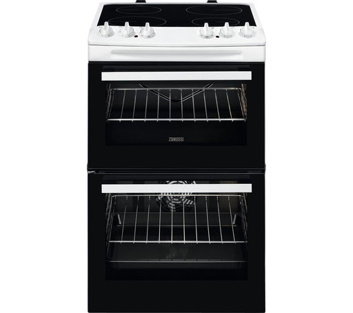 ZANUSSI ZCV46050WA 55 cm Electric Ceramic Cooker - White