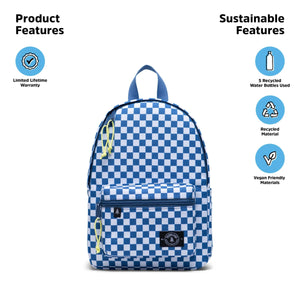 edison backpack - checkered horizon