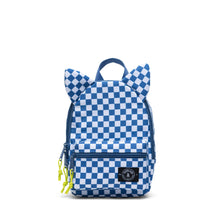 Load image into Gallery viewer, little monster backpack - checkered horizon