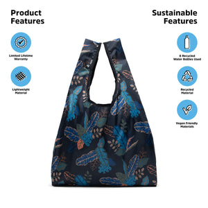 pepper tote - jungle amber