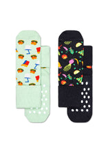 Load image into Gallery viewer, anti-slip socks 2pk