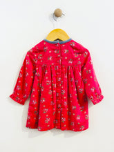 Load image into Gallery viewer, smocked floral dress / 3-6m