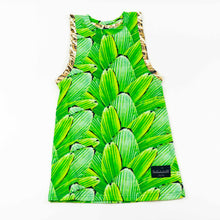 Load image into Gallery viewer, tank dress - pleat jungle