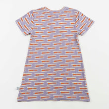 Load image into Gallery viewer, tshirt dress - metro periwinkle