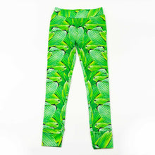 Load image into Gallery viewer, legging - pleat jungle