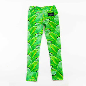 legging - pleat jungle
