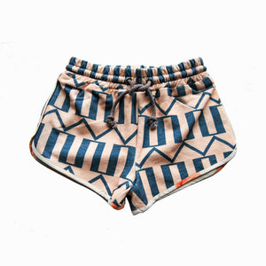 runner short - arrow peach