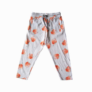 drop-crotch legging - guava peach