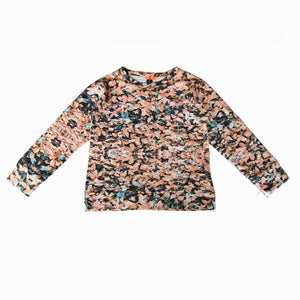 sweatshirt - field peach