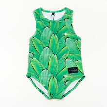 Load image into Gallery viewer, swimsuit - pleat jungle