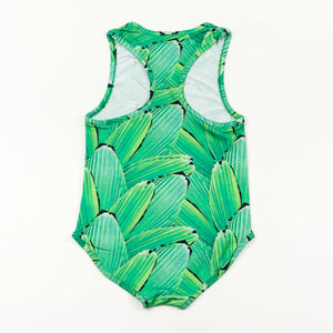 swimsuit - pleat jungle