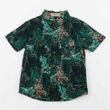 Load image into Gallery viewer, button down shirt - jangal forest