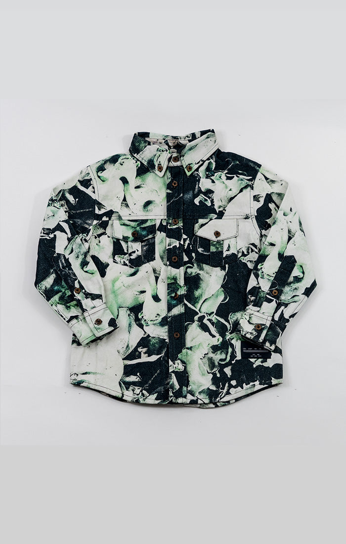 workshirt - fungi emerald
