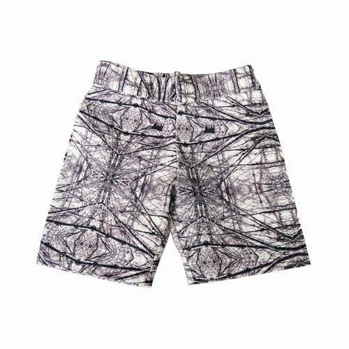chino short - wood charcoal