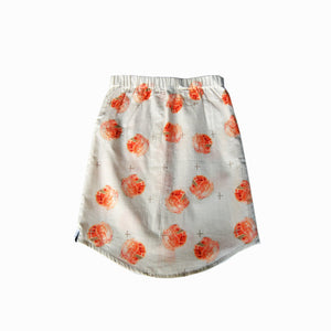 skirt - guava peach