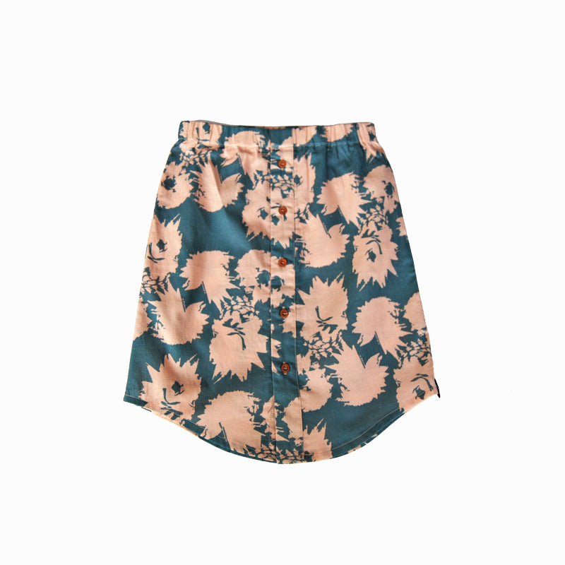 skirt - pineapple peach