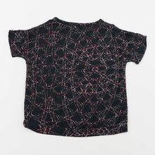 Load image into Gallery viewer, v-neck tshirt blouse - taj charcoal