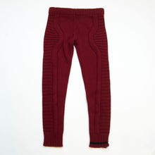 Load image into Gallery viewer, knit legging - burgundy