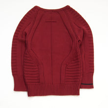 Load image into Gallery viewer, knit pullover - burgundy