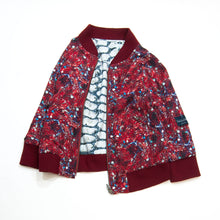 Load image into Gallery viewer, 2-way bomber jacket - pineberry wine
