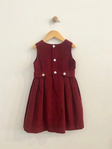old world linens dress / 3T
