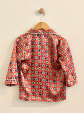 Load image into Gallery viewer, VINTAGE pajama shirt / 7Y