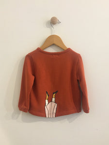 oeuf sweater / 12m