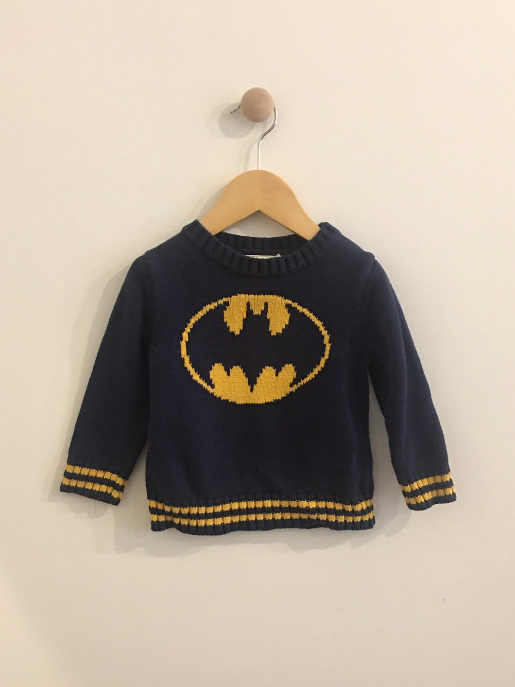 baby gap x junk food sweater / 12-18m