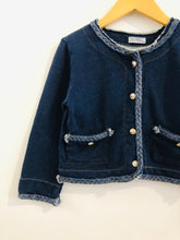 Load image into Gallery viewer, french terry jacket / 6-8Y