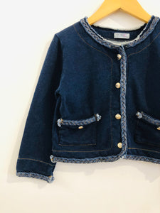 french terry jacket / 6-8Y