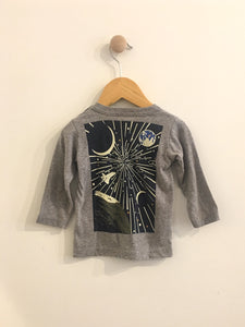 space tee / 6-12m