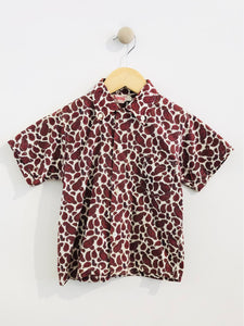 paisley button up / 4-6Y
