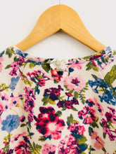 Load image into Gallery viewer, floral knit top / 4T