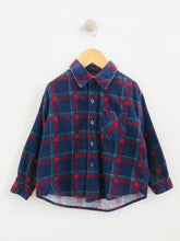 Load image into Gallery viewer, cropped plaid button-up / 4T