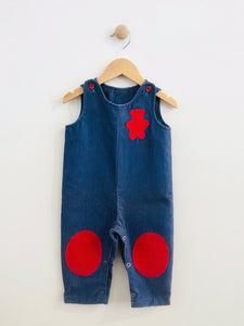 patch overalls / 12m