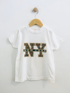 New York tourism tee / fits 6Y