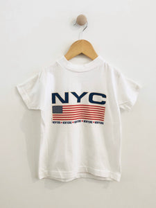 New York tourism tee / fits 4-6Y