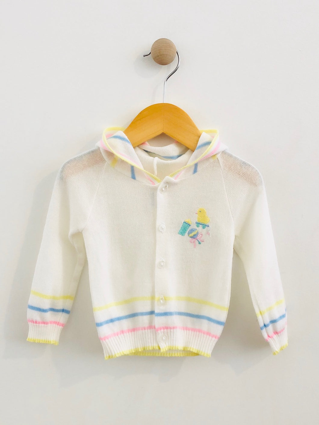 hooded sweater / 12m